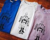 One Punch Man Saitama Inspired Screenprinted T-Shirt