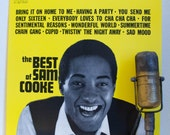 "ON SALE Sam Cooke Vinyl Record Album 1960s Soul Vocals Romance Dance LP Sam Cooke ""The Best of Sam Cooke""(1981 Rca re-issue)"