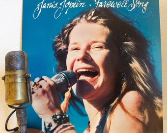 """ON SALE Janis Joplin - """"Farewell Song"""" (Original 1982 Columbia Records featuring """"Tell Mama"""", """"Magic of Love"""" and more) - Vintage Vinyl"""