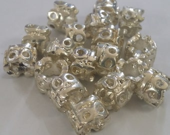 5 18 Age Beads Large 5 mm Hole  Beads fit European Jewelry - Only 3 available T