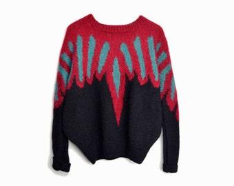 The Phoenix Sweater - Vintage Dolman Sleeve Sweater - women's medium