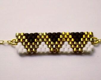 Bracelet aux triangles