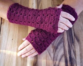 Made-To-Order Medium Scales Fingerless Gloves