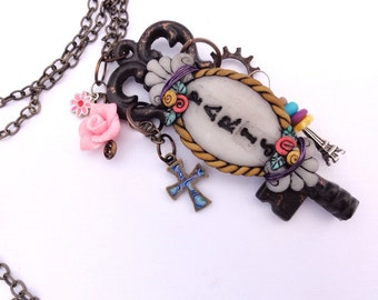 For Paris, charmed necklace by Marie Segal