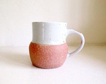 Ceramic Pink Confetti Mug