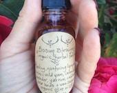 Bosom Blessings. Small batch // Organic Herbal Self Love Healing Oil
