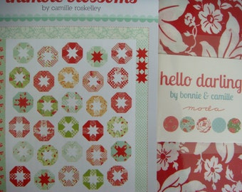 Lollies Quilt Kit With Hello Darling fabric by Bonnie and Camille from Moda