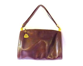 Morris Moskowitz Fine Leather Handbag Hobo Style for Fall