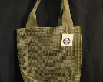 Tactical Tote Bag /Small Tan Mesh with Shoulder Straps