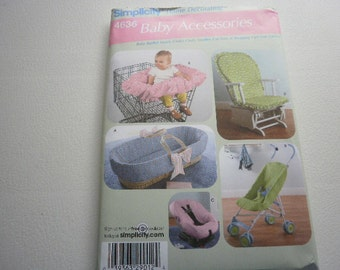 Pattern Baby Accessories Baby Basket Car Seat Stroller Simplicity 4636