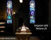 Forgotten Gold™ Perfume Oil - Sweet Frankincense, Myrrh, Benzoin, Copal, Cedar, Clove - Ancient Incense Perfume Oil