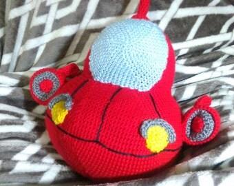 Crochet Little Einsteins Rocket 10 inches