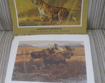 Remington's Portfolio of Great Game of the World by Bob Kuhn