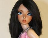 BJD- 6/7 Sleek Noir Wig