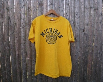 Vintage University of Michigan Mens Extra Large Champion