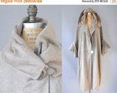 30%OFF 1920s Embroidered Coat / Starburst Cocoon Coat / 20s