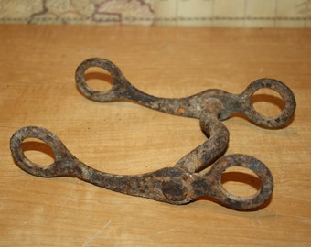 Vintage Metal Horse Bit - item #2013