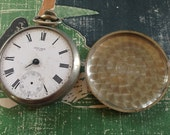 Old Non - Working New Era Pocket Watch Movement