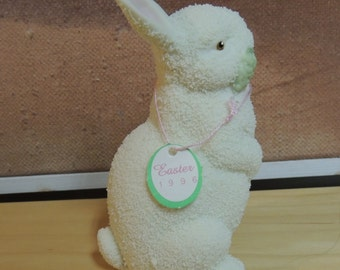 1996 Easter Department 56 Large Rabbit Figurine