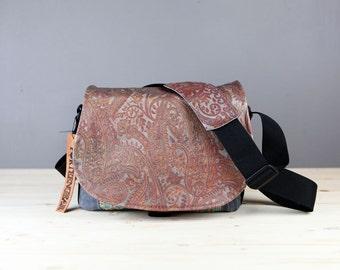 Paisley Leather Camera Satchel Bag DSLR- PRE-ORDER