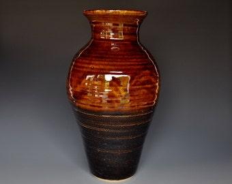 Tall Large Pottery Vase Stoneware Flower Vase Handmade Ceramic Vase Pottery A