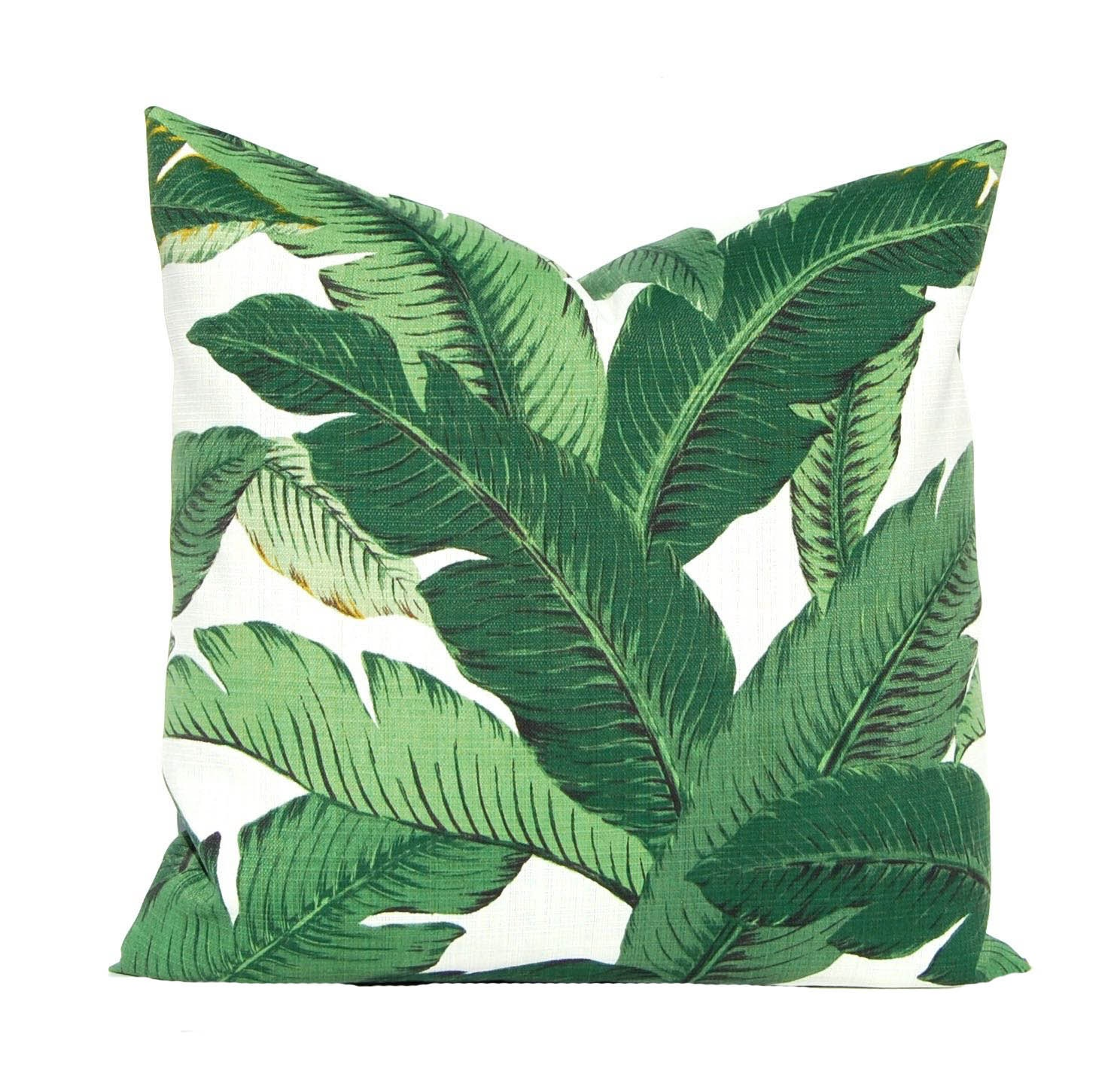 Outdoor Pillow Cover Tommy Bahama Swaying Palms Banana