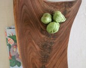 Gorgeous Figured Walnut Footed Platte