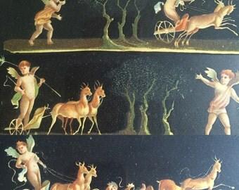 Vintage Amorini prints   Italian angel prints
