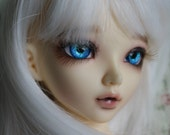 BJD eyes Doll eyes Hand made available in 12/14/16/18/20/22/24mm Perriwinkle  made to order