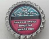 S.A.N.E Nurse Sexual Assault Nurse Examiner Work badge ID abdge