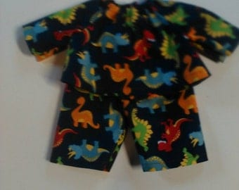 "Baby Alive  and Cabbage Patch Boy Doll Clothes Sizes 10"" 12"" Or 15"" Dinosaurs"