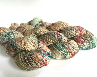 Sea Spiral Sock Yarn. Tam Lin