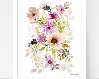 Art Print Hydrangea and Provence
