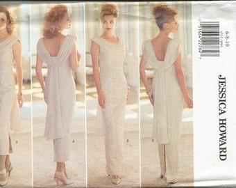 Butterick 4315 Jessica Howard  Evening Dress Pattern SZ 6-10