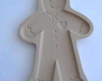 Brown Bag Cookie Art Cookie Mold, 1992, Gingerbread Man