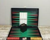 Hol Polloi INC Bakelite Backgammon  Bakelite Backgammon set, Vintage Backgammmon set, Board Game