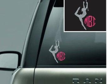 Personalized Twirler Car Decals