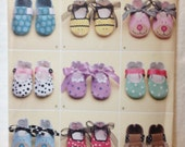 Simplicity 2491, Baby Shoes/Seven Styles