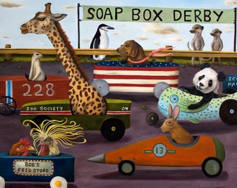 Soap Box Derby print