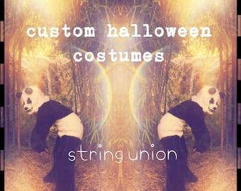 Custom Halloween Costume for Kids, Adults & Pets