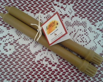 "Authentic Handmade BAYBERRY Candles - 10"" taper pair"