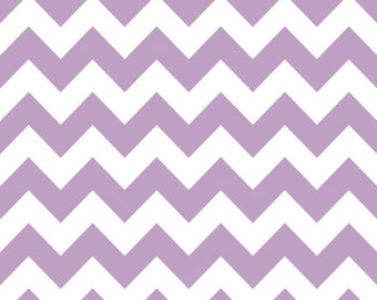 SALE - Lavender Chevron Baby Blanket and your Choice of Minky Dot  - Personalization Options Available