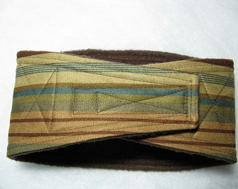 Waist 12.75 x Width 3.50 inches Male Dog Belly Band Wraps by Sew Dog Diapers Quilted Padded Belt BellyBand  # 908 STRIPES
