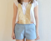Bunny Shorts Playsuit Small