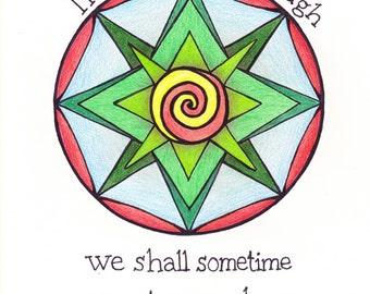Wizard of Oz Mandala