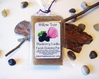 Blackberry Vanilla - Natural Facial Cleansing Bar