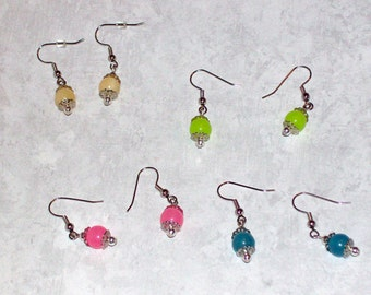 CLEARANCE Candy Jade Earrings Assorted Colors