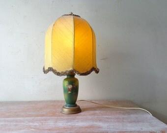Ornate Vintage Porcelain lamp