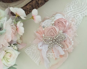 The little princess rosette headband by cozette couture