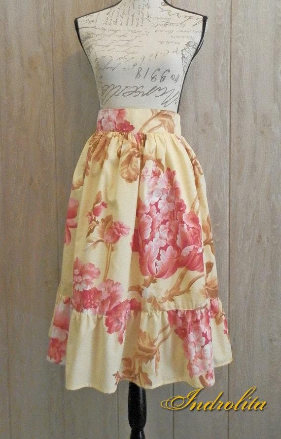 Sweet Floral Skirt